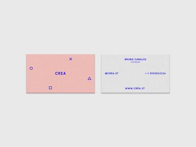 Crea Business Cards