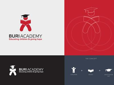 Buri Academy Logo Concept design logo logo design brand branding africa