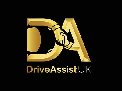 Drive Assist UK branding logo logo design design brand