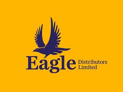 Eagle Distributors Limited logo design logo design branding brand