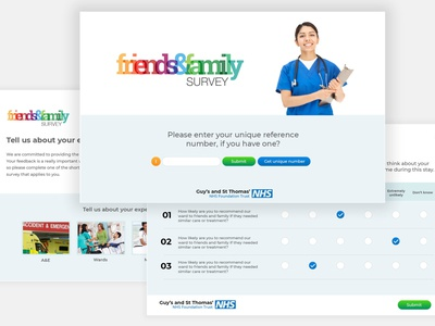 friends and family survey test clinic portal logo design logo design branding brand