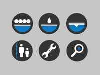 Boardshop website icons