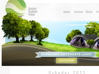 Festival Logo and website