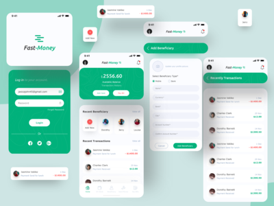 Fast-Money ( Baking App )