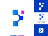 Play Box Logo Design