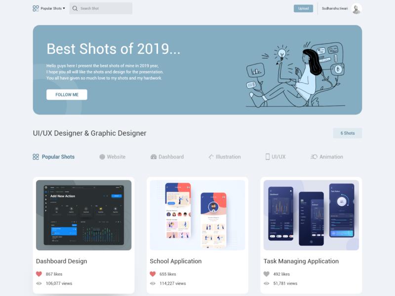 Best Shots of 2019 typography minimal type icon illustration vector clean branding app design application