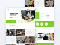 Explore webpage