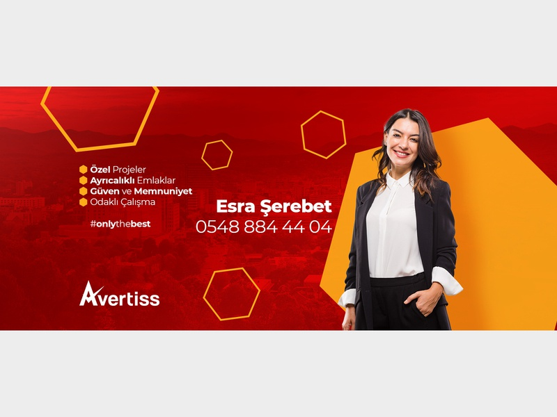 Esra Serebet - Facebook Cover branding photoshop graphic  design design