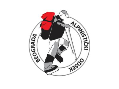 Alpinist squad logo alpinist squad logo idea serbia belgrade alpinism logo design logo