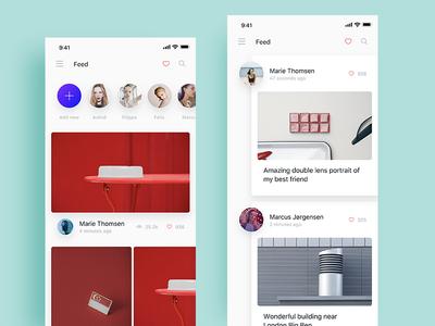 UI desigin practice color ui app
