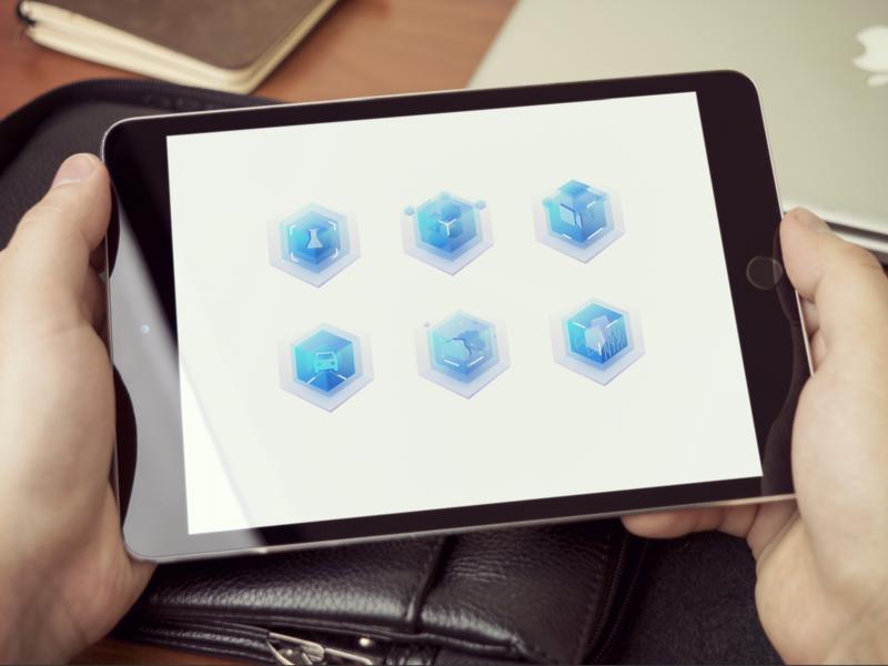 Smart technology icon 设计探索 icon animation 设计系统 icon