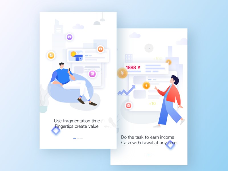 Illustrator guide page-APP-01 practice pattern art pattern guide pages flat contrast ui ux ui design art appdesign app lllustration