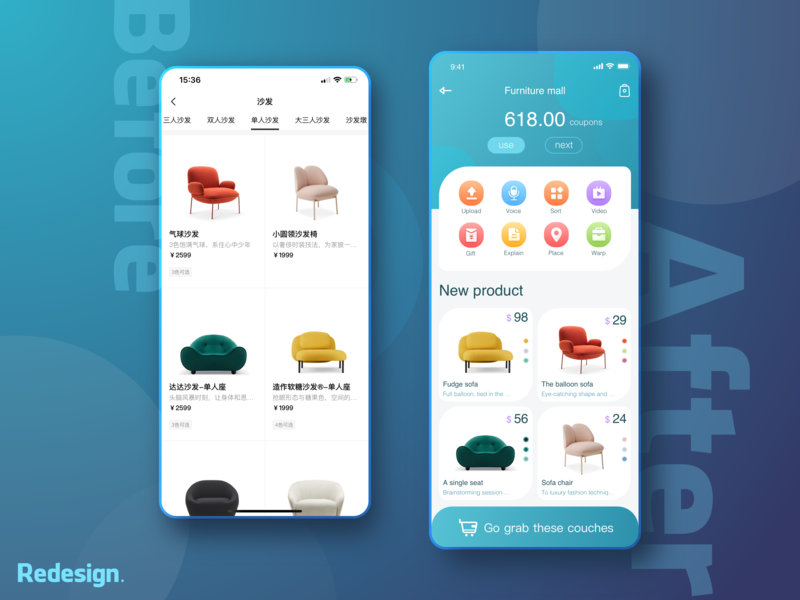 An APP redesign----Zaozuo appdesign ui interface design redesign app