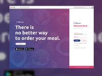 Feedback Wanted! Login Screen for Catering Firms.