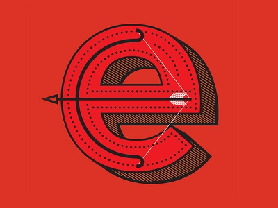 Ekballo  drop cap illustration design type typography