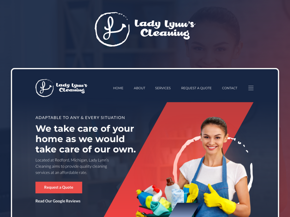 Lady Lynn typography logo ui web website branding design