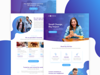 Forcha landing page