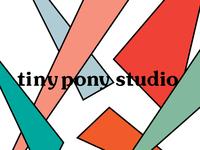 tiny pony studio design