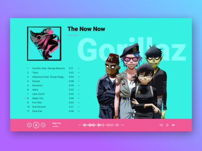 Music Player. DailyUI Challenge