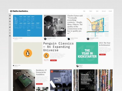 New Homepage Quick Test homepage web landing log social feed