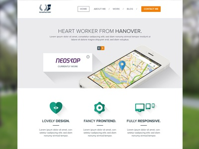 Portfolio Relaunch V2 portfolio flat simple clean website personal about