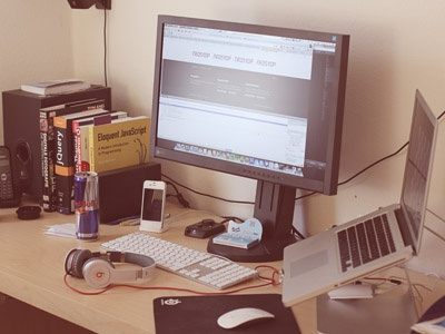 Favorite Place At Home desk place home work design creativity apple coding love