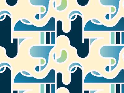 Wiggltinger pattern