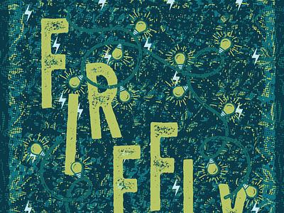 Firefly 2017 Poster gig poster firefly