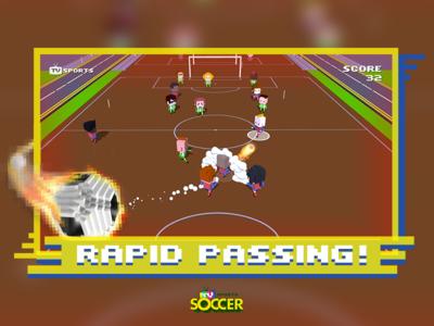 Promotional Shot for TV Sports Soccer