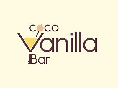 Coco Vanilla Bar coco vanilla bar bar vanilla coco cocktail bar visual communication type typography logo branding graphic design