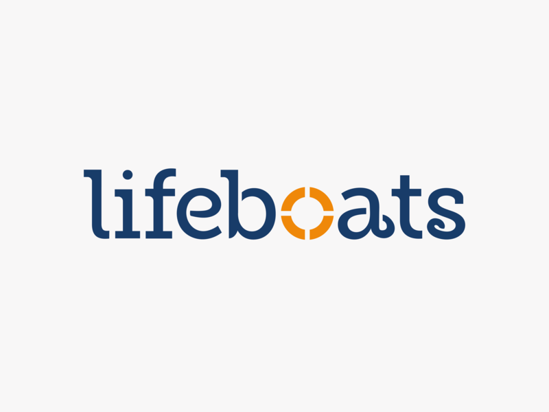 Lifeboats saviour slab lifeboats rnli visual communication design font fonts type typography graphic design