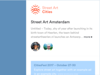 Street Art Cities Sidebar