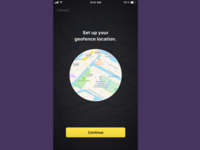 Set up your geofence