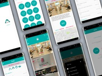A directory app for nearby salons and spas