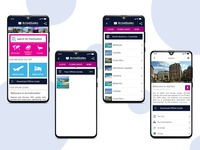 A guide app for different destinations