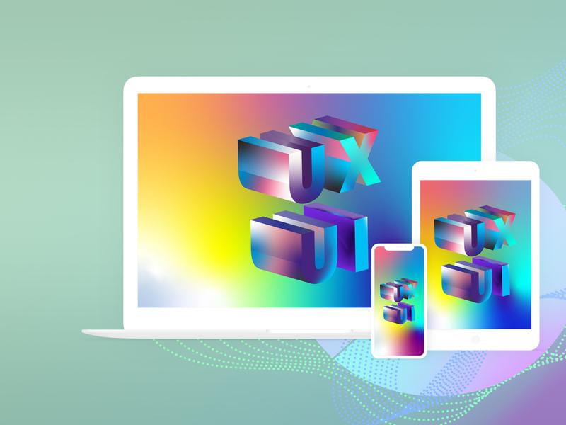 UX UI Wallpaper - FREE -