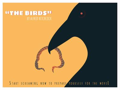 "Movie poster ""The Birds"""