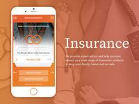 Insurance website redesign