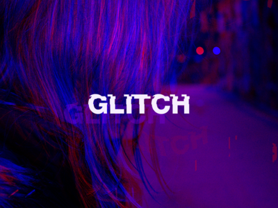 Glitch aiga photomanipulation interactive branding glitch simple modern minimal logodesign logo typography design graphicdesign