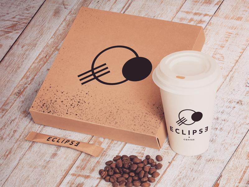 Eclipse • creative illustration logodesign logo coffee packaging concept minimalism design graphicdesign brandidentity branding