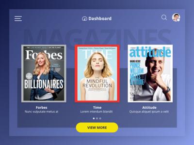 iPad Magazines Application