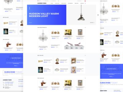 Modern Furni - Homepage
