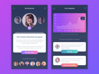 Chat and Dating App Concept
