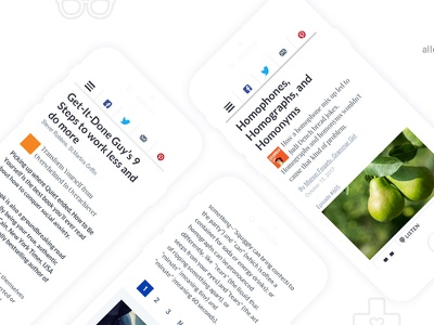 macmillan_Quick and Dirty Tips editorial responsive design ux ui mobile