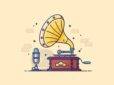 Gramophone & Mic
