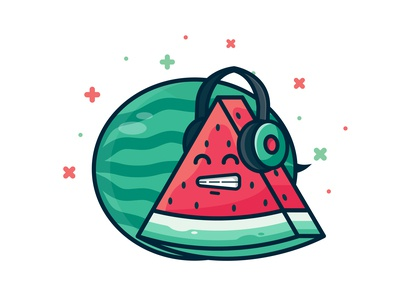 Watermelon Character