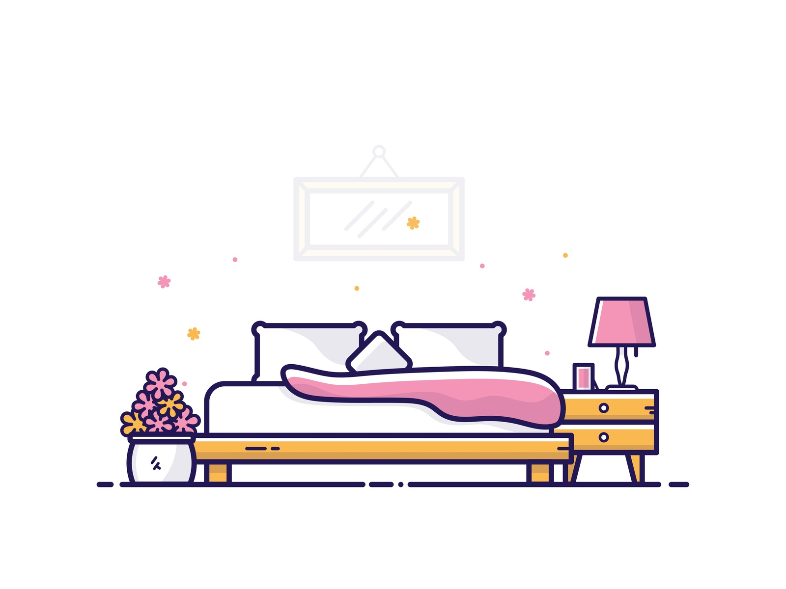 Bedroom Set By Dom Designs On Dribbble