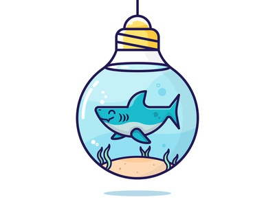 Shark in a Lightbulb