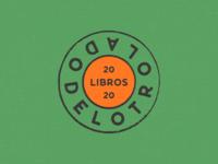 Del otro lado vintage brand identity retro badge rubber stamp stamp seal book store vector typography branding rebrand brand design visual identity identity logo system logo
