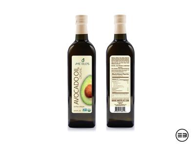 avocado oil bottle label labeldesign label avocado